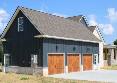 Customer Garage Design & Construction