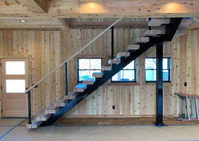 Custom Fabricated Stairs