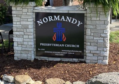 Custom Normandy, TN Stone Sign